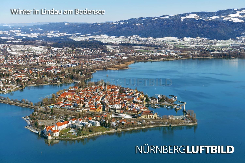 Winter In Lindau Am Bodensee
