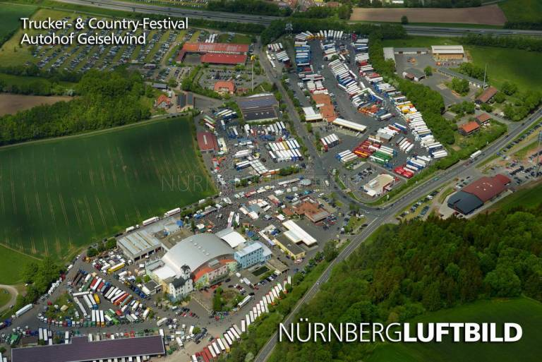 Trucker- & Country-Festival, Autohof Geiselwind