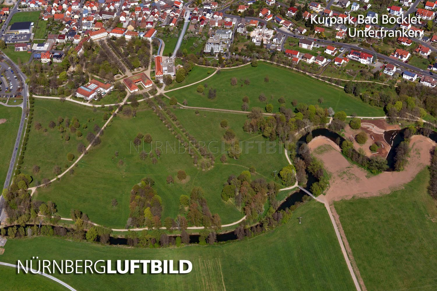 Kurpark Bad Bocklet, Unterfranken
