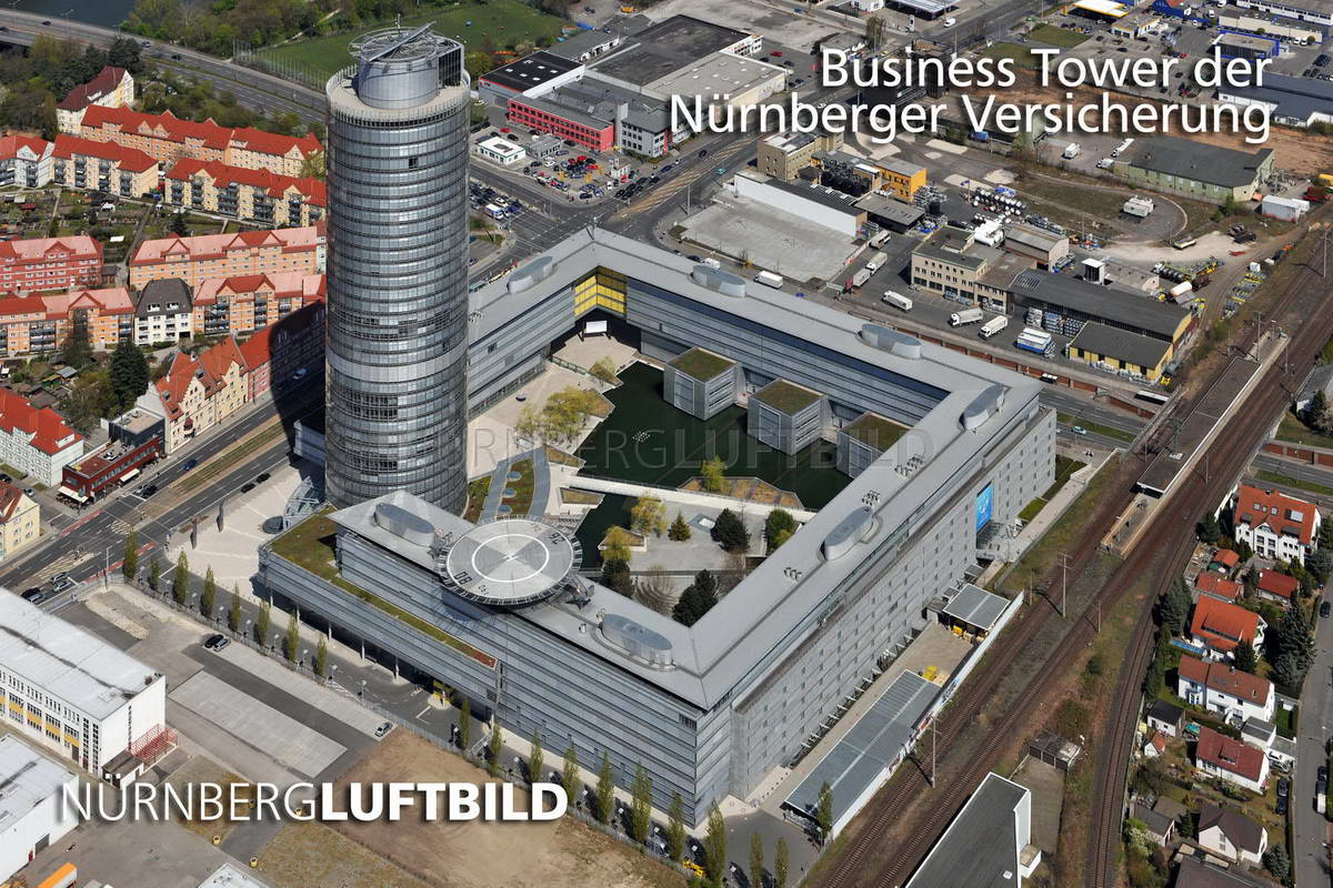 Business Tower der Nürnberger Versicherung