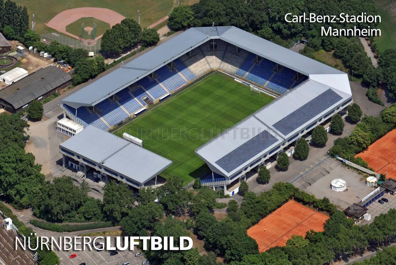 Carl-Benz-Stadion, Mannheim, Luftaufnahme