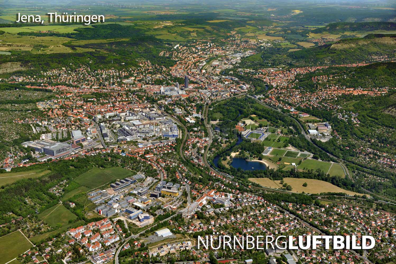 712 Jena Luftaufnahme
