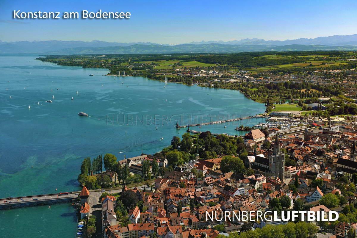 Konstanz Am Bodensee Luftbild