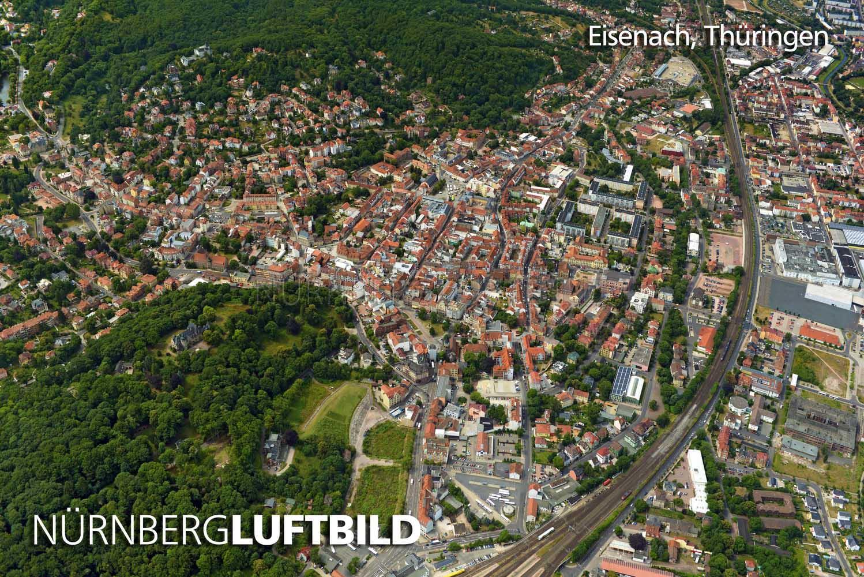 732 Eisenach Thueringen Luftbild