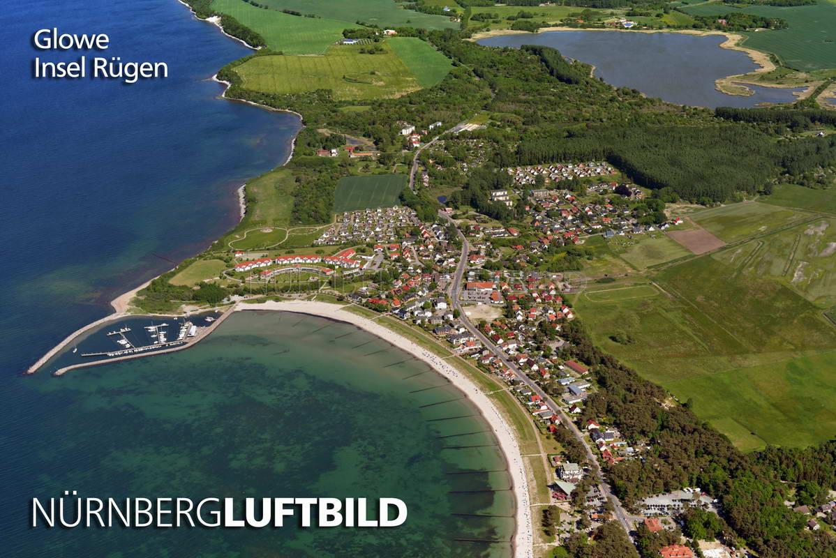 Glowe, Insel Rügen, Luftaufnahme  Glowe, Insel R�...