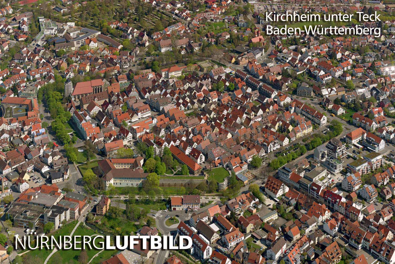 Kirchheim unter teck luftaufnahme