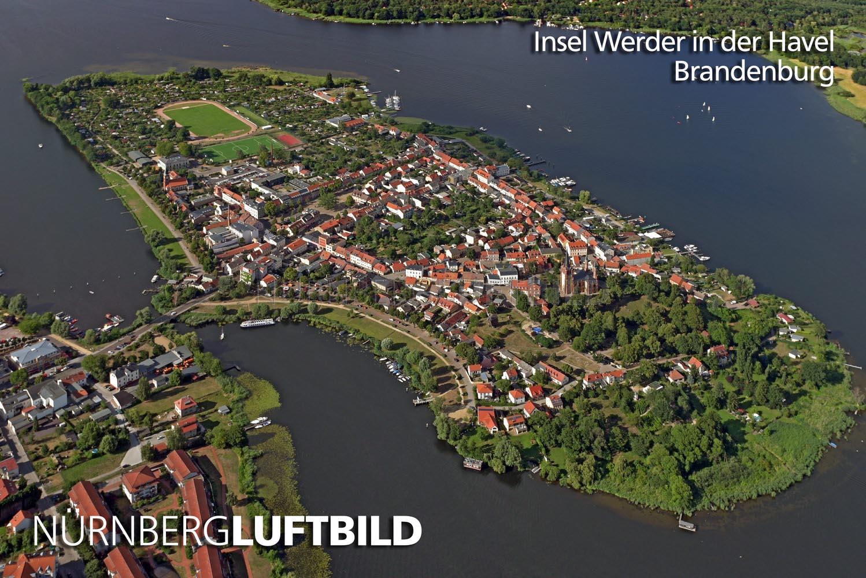 Insel Werder In Der Havel Luftaufnahme