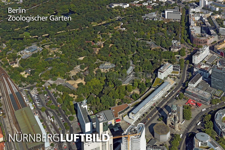 Berlin Zoologischer Garten Luftaufnahme