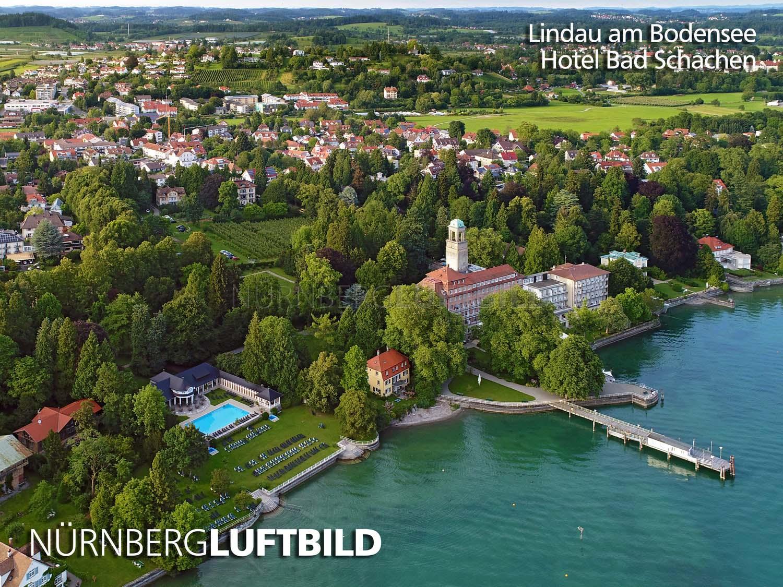 Lindau Am Bodensee Hotel Bad Schachen Luftbild
