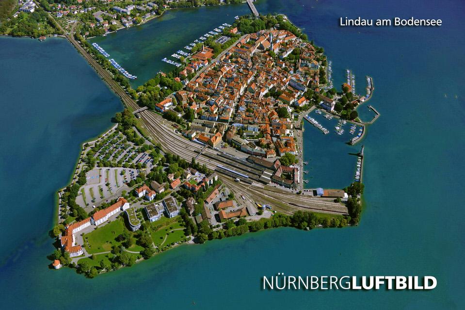 Luftaufnahme Von Lindau Am Bodensee